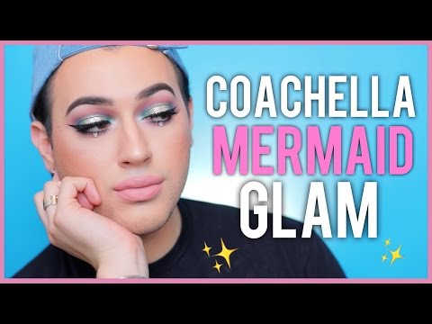 Thumbnail: Coachella Inspired - Mermaid Halo Eye Makeup Tutorial | Manny MUA