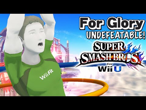 LEVEL UP! | Undefeatable! ~ Wii Fit Trainer Ep. 11- Super Smash Bros Wii U (For Glory)