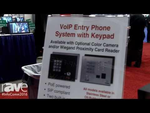InfoComm 2016: Viking Electronics Explains Its Security and Telephone Products