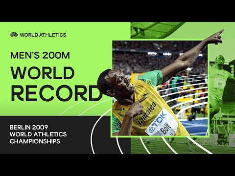 World Record | Men's 200m Final | World Athletics Championships Berlin 2009
