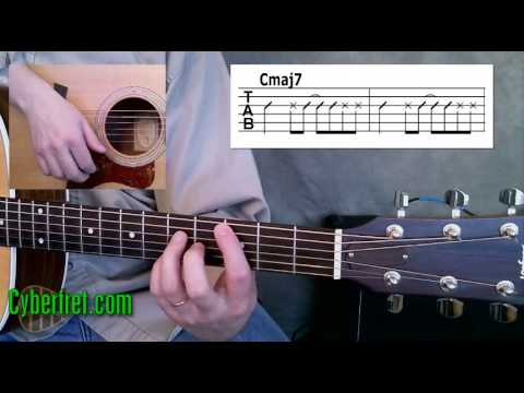 Adam Sandler Thanksgiving Song Guitar Lesson