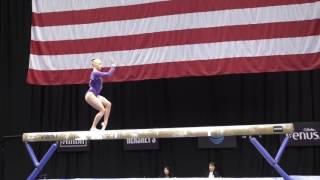 Alyssa Baumann- Balance Beam - 2016 P&G Gymnastics Championships - Sr. Women Day 2