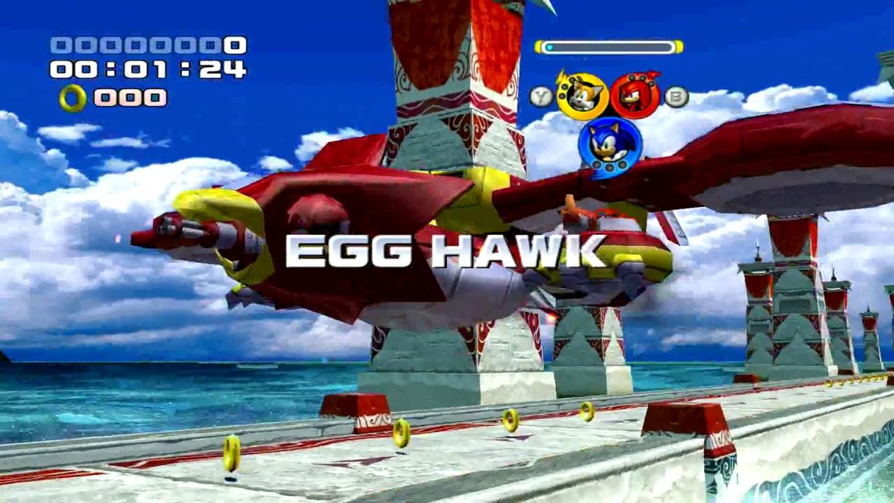 Sonic Heroes (1080P) Widescreen Fix pack