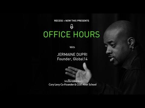 Office Hours: Jermaine Dupri - Founder, Global 14 (Full-Length)