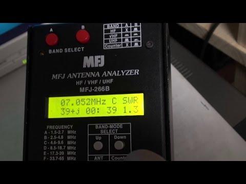 MFJ-266B antenna analyzer