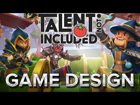 Talent Not Included : Le game design