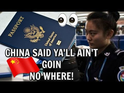 US Warn Americans China Enforced Exit Ban Not Allowing Americans To Leave And Go Back to USA