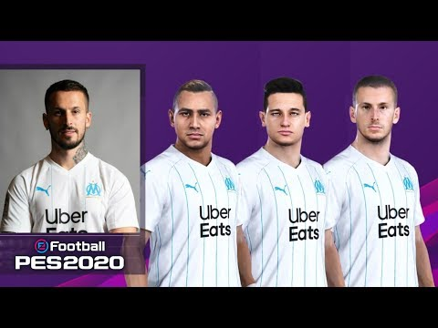 EFootball PES 2020 Marseille Faces & Overalls | PS4