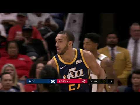 Utah Jazz vs New Orleans Pelicans : October 27, 2018