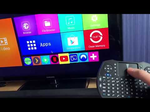 Review: Alfawise T9 Android TV Box and Alfawise A8 Wireless keyboard from GearBest