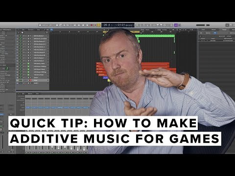 Quick Tip: How To Make Additive Music For Games