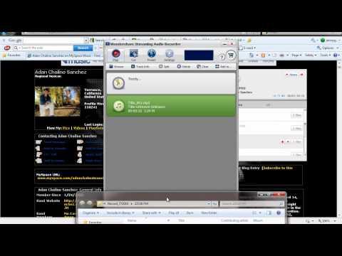 how to download music from myspace como bajar musica  de myspace
