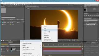 After Effect cara membuat video dari sebuah gambar