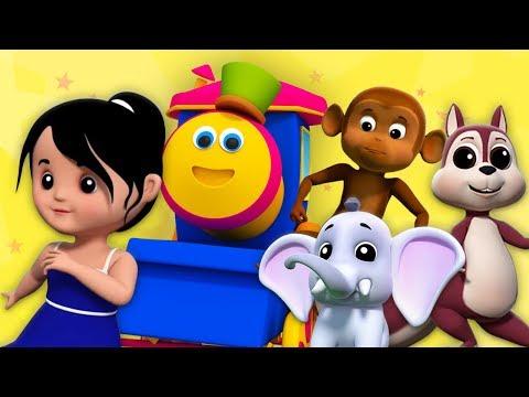 บ๊อบรถไฟ | ไปที่สวนสัตว์ | เพลงสำหรับเด็ก | เรียนรู้สัตว์ในภาษาไทย | Going To Zoo | Kids Tv Thailand
