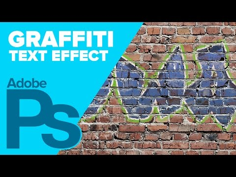 How To Create Graffiti In Adobe Photoshop