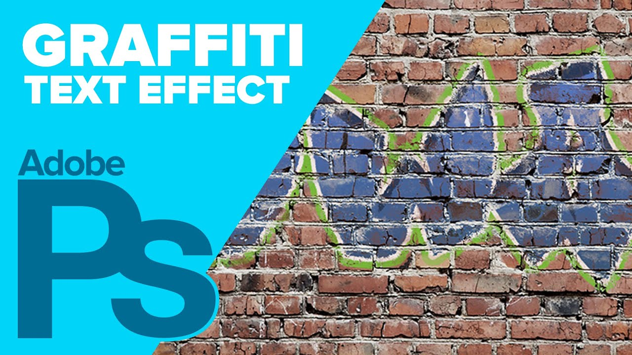 Graffiti wall text - How To Create Graffiti In Adobe Photoshop