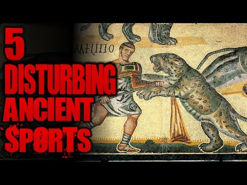 5 Brutally Disturbing Ancient Sports | SERIOUSLY STRANGE #80