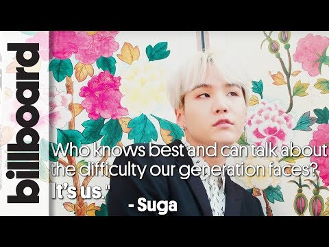 A Word From BTS' Suga for The Difficulties Millennials Face | Billboard