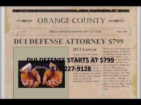 DUI Attorney Yorba Linda CA 877-227-9128 Yorba Linda DUI Defense Attorneys