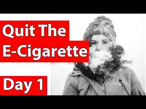 Hypnosis - Stop smoking e-cigs (Quit e-cigarettes in 3 easy steps) stage 1 of 3