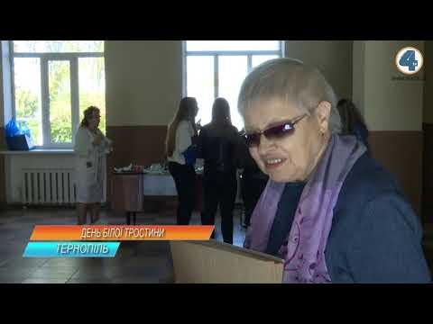 TV-4: 15 жовтня незрячі у світі відзначають Міжнародний день білої тростини
