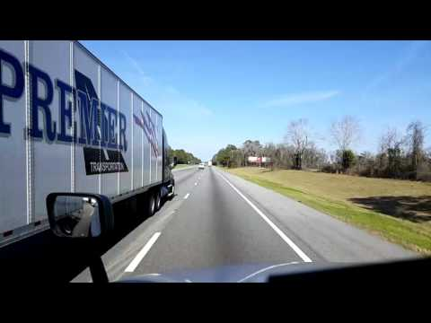 Bigrigtravels Live! - Jasper, Florida to Tifton, Georgia - Interstate 75 - February 6, 2017