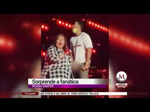 Romeo Santos seduce a fan