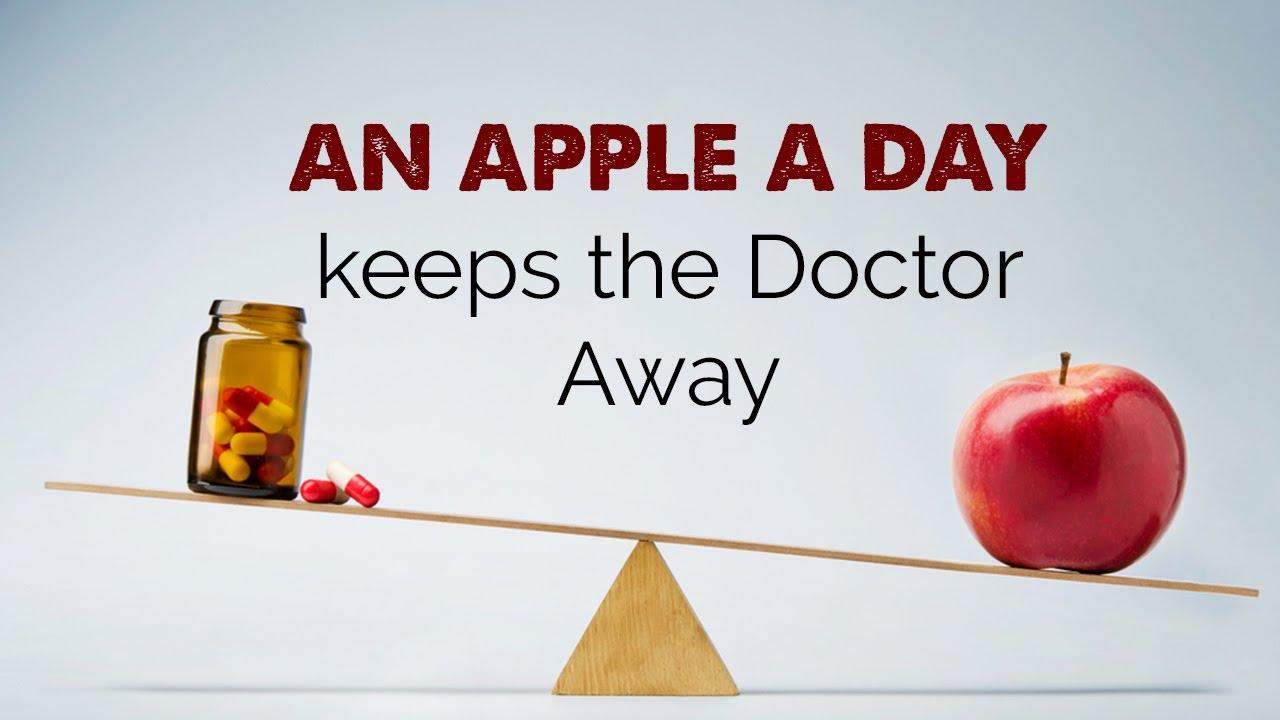 Afbeeldingsresultaat voor an apple a day keeps the doctor away