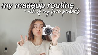my *unsponsored* makeup routine :)