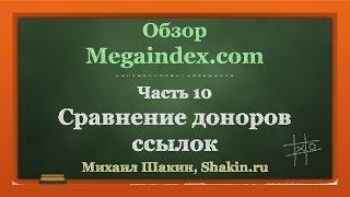 видео анализ сайта мегаиндекс