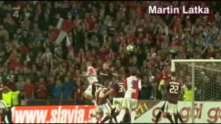 Slavia Praha - góly podzim 2012