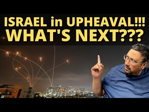 ISRAEL is in UPHEAVAL!!! What's next???