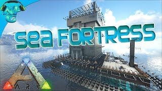 Farewell to a Friend and the Fortress at Sea Showcase! ARK Ragnarok PVP E42 Finale