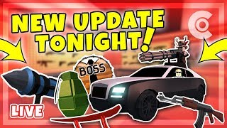 🔴 The BIGGEST Jailbreak update TONIGHT! | 6+ HOUR LIVESTREAM | ROBLOX LIVE 🔴