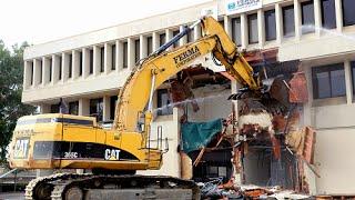 Downtown Fremont on the Rise Demolition Celebration