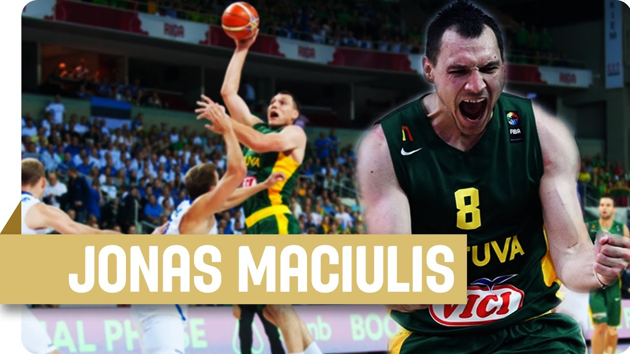 Jonas Maciulis wants to be the best