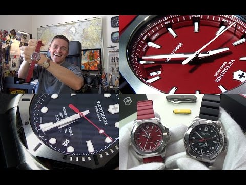 Hard As Nails! - Victorinox I.N.O.X. & Professional Diver Review - The Toughest Swiss Made Watch
