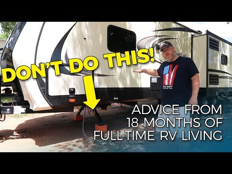 COMMON RV SETUP MISTAKES TO AVOID | Things Every RV Owner Should Know