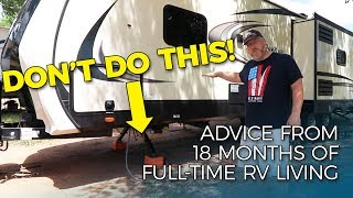 COMMON RV SETUP MISTAKES TO AVOID | Things Every RV Owner Should Know thumbnail