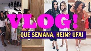 Gambar cover Vlog - Semana intensa, Evento Mary Kay em SP, meu 1º fio branco - lifestyle Armário de Madame