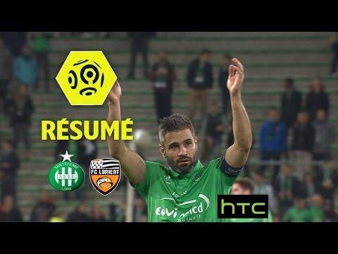 AS Saint-Etienne - FC Lorient (4-0)  - Résumé - (ASSE - FCL) / 2016-17