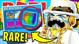 I *SCAMMED* THIS YOUTUBER IN *DISGUISE* OF HIS SECRET PET IN ROBLOX BUBBLEGUM SIMULATOR! [UPDATE 30]