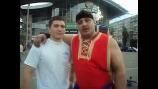 Привет фанатам гиревого спорта от Дмитрия Халаджи и Ткачука Николая