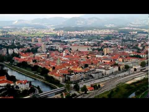 Celje, razglednica mesta (quick view of the city)