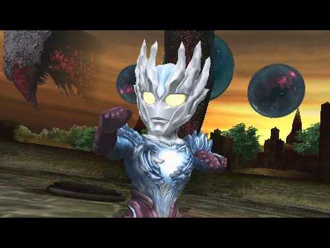 [PSP] Heroes VS: Ultraman Saga gameplay