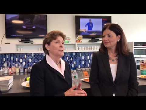 U.S. Senators Jeanne Shaheen and Kelly Ayotte at High Liner Foods