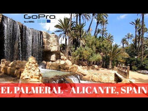 El Palmeral Park / Parque El Palmeral- Alicante, Spain GOPRO 7