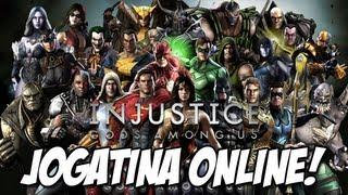 Jogatina Online REI DO PEDAÇO - Injustice Gods Among Us