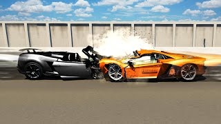 DESTROYING $5,000,000 WORTH OF CARS! (BeamNG.drive #16)
