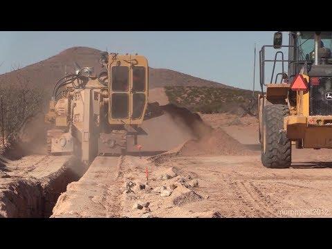 Border Barrier (El Paso 1) Heavy Equipment